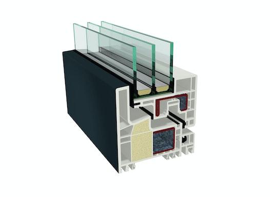 Kunststofffenster KUBUS