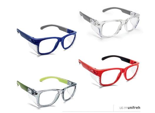 UG-19 Unifresh Schutzbrille verglasbar mit Ihren Stärken