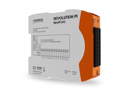 Revolution Pi DO – Digitales Output-Modul passend für den RevPi Core