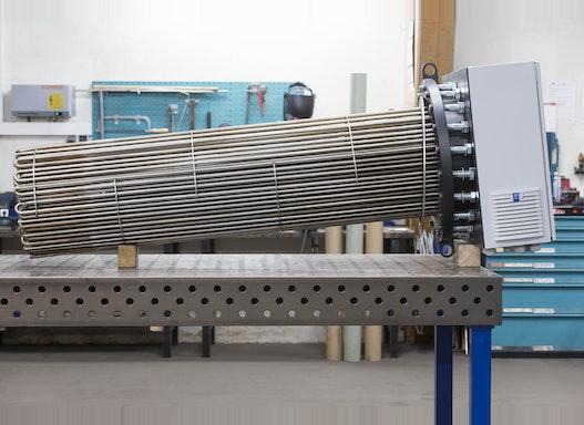 Elektrischer Flanschheizkörper Industrieausführung