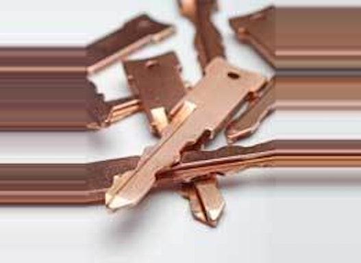 Oberflächenveredlung - Kupfer