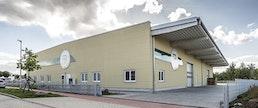Hallenbau für Werkstatt, Lager und Produktion
