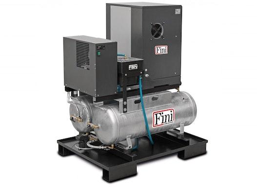 FINI Schraubenkompressor DUO MICRO SE 4,0-10 2x100 K