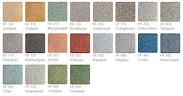 Standard-Farbtöne für Kunstharzböden