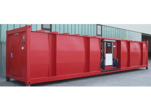 MINOTAUR® doppelwandige Tankstellencontainer in ISO-Maßen