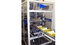 Tray- & Kartonaufrichter für Klebetrays Serie SOA 200 Somatech