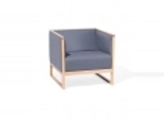 Objektstuhl / Lounge Sessel / Armlehnenstuhl Cassablanca