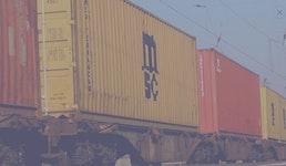 Bahnfracht & Binnenschiff