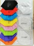 10 Stk - Paket zertifizierte FFP2 Atemschutz-Masken ohne Ventil
