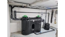 Fettabscheider NS 4 Komplettanlage mit Einbauservice
