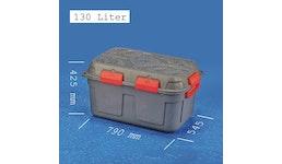 JUMBO-DRY-BOX 130 Liter, anthrazitfarben und wasserdicht