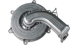 Heiztechnik: zweiteiliges Brennergehäuse für Gasbrennwertsysteme