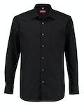 Herrenhemd *slim fit* schwarz