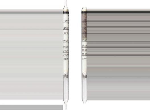 Dräger Prüfröhrchen - Benzinkohlenwasserstoffe 100/a  100 bis 2500 ppm - Dräger-Röhrchen
