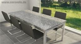 Granittisch Tischplatte Granit ab 202 € Format 220x100x2 cm