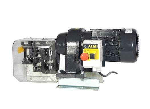 Motor. Rohrausklinker von ALMI AL1-2U Rohrdurchmesser  3/4 - 1 - 1 1/4 - 1 1/2 und 2 Zoll