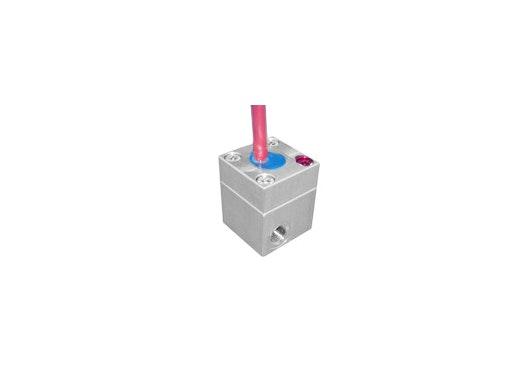 mini Ovalradzähler Serie VZS-005-ALU 130°C