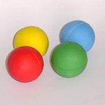 Moosgummiball 63 mm glatt