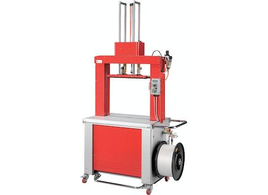 Highspeed-Rahmenumreifungsmaschine mit Anpressung Modell TP-702P