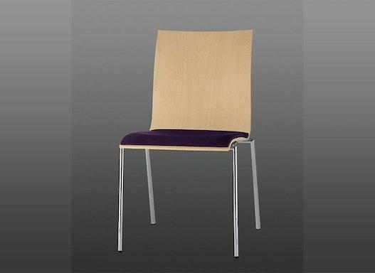 Objekttisch / Stahlrohrstuhl / Konferenzraunstuhl / Stapelstuhl Stila