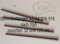 Gewindestangen Edelstahl A2/A4 DIN 976