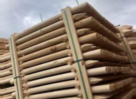 Palisaden aus Holz