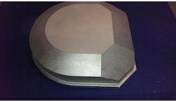 Gussdeckel Aluminium Sandguss