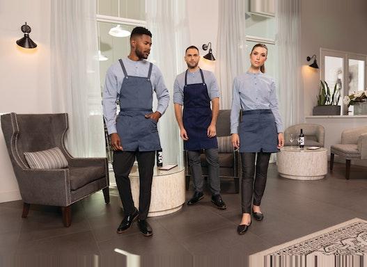 Chef Works®  Gastronomie-Hotel Bekleidung - New Contemporary Collection - Blusen, Hemden, Shirts, Schürzen, Vorbinder