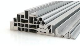 Aluminiumprofile, Aluminiumrundstangen und Maschinenbauprofile