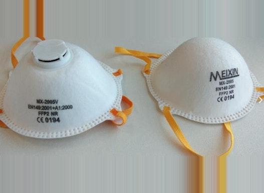 Atemschutzmasken (FFP-2 und KN-95 Standard)