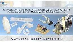 3D-Druck Service  für Silikon & Kunststoffteile / 3D printing service/service d'impression 3D en silicone & plastique