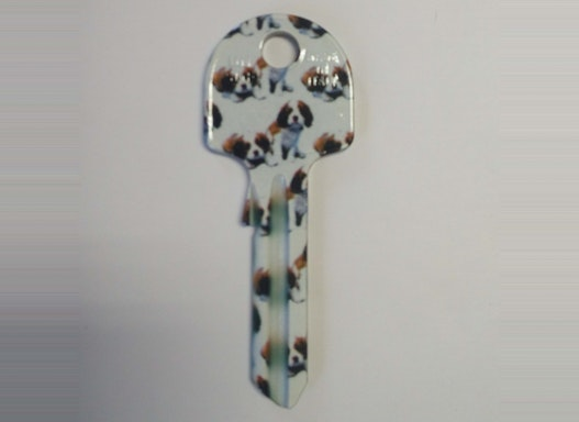 Keyline Hausschlüssel UN5DF mit verschiedenen Tier-Motiven