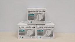 FFP2 Masken, 25 Stk. Karton