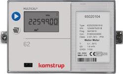 Ultraschall-Wasserzähler Multical 62 Q3 = 1,6 m3/h (Qn 0,6) BL 110mm G3/4B für Kaltwasser