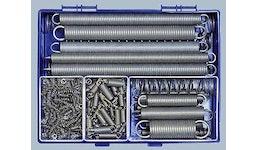 Federsortimente aus 1.4310 Edelstahl rostfrei Zug- und Druckfedern