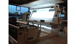 Umwickel-, Schau- und Schneidmaschine (nach Kundenanforderung)