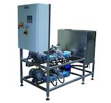 Behälterinnenreinigungsanlage / Behälterreinigungsanlage