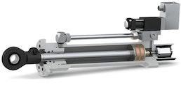 Zylinder der Reihen 120 und 300 mit integriertem Wegmesssystem
