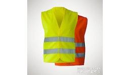 Warnweste - EN ISO 20471 in gelb und orange