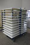 Tischplatten Hochglanz lackiert