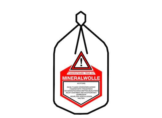 Mineralwolle Flachsack 140x220cm