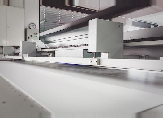 Großformatiger Digitaldruck