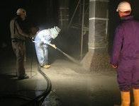Trockenspritzverfahren / Dünnstromverfahren
