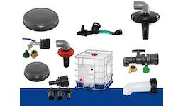 IBC Tank/ Container, IBC Adapter , IBC Zubehör für Einlass und Auslass