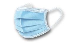 Atemschutzmaske Face Mask 3 -lagig blau Mundschutz