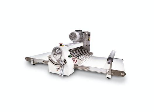 Ausrollmaschine mit 520 mm Bandbreite, Tischmodell