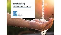 Zertifizierung nach ISO 14001:2015 - Umweltmanagement