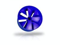 Rotor für Kleinstwasserkraftwerk aus PC/ABS
