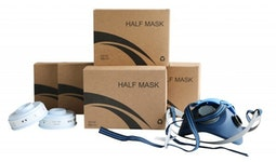 Set 5 x Halbmaske Modell 0503E & 5 Paar Filter 0503