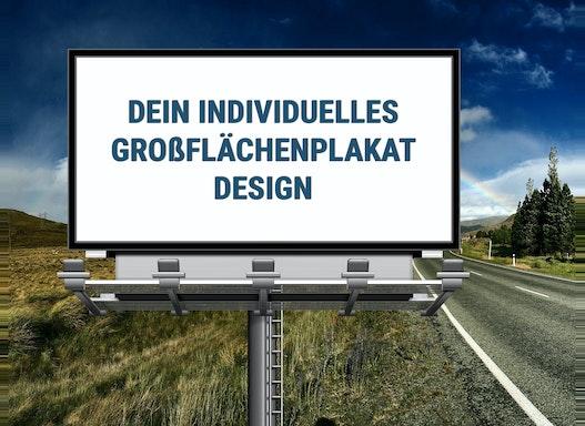 Premium Großflächenplakat Design | Erstellungsservice | Auch inkl. Druck